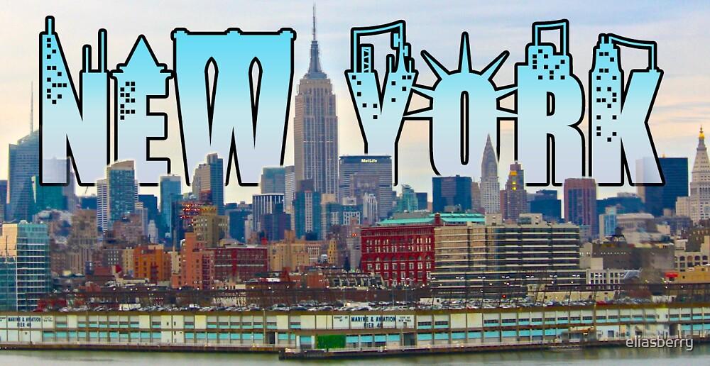 New York Skyline by eliasberry