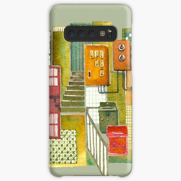 Hong Kong Tong Lau (Old style Chinese shophouse) Samsung Galaxy Snap Case