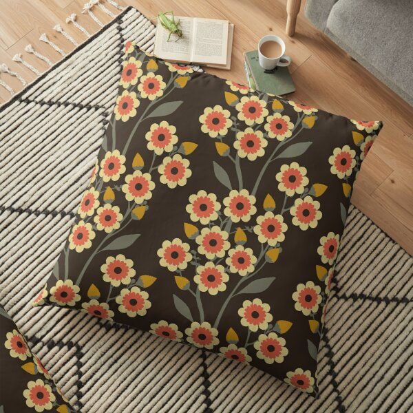 Hot Summer Night Floor Pillow