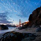 Golden Gate from Marshall Beach by Scott Sawyer