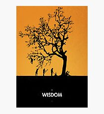 99 Steps of Progress - Wisdom Photographic Print