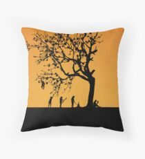 99 Steps of Progress - Wisdom Throw Pillow