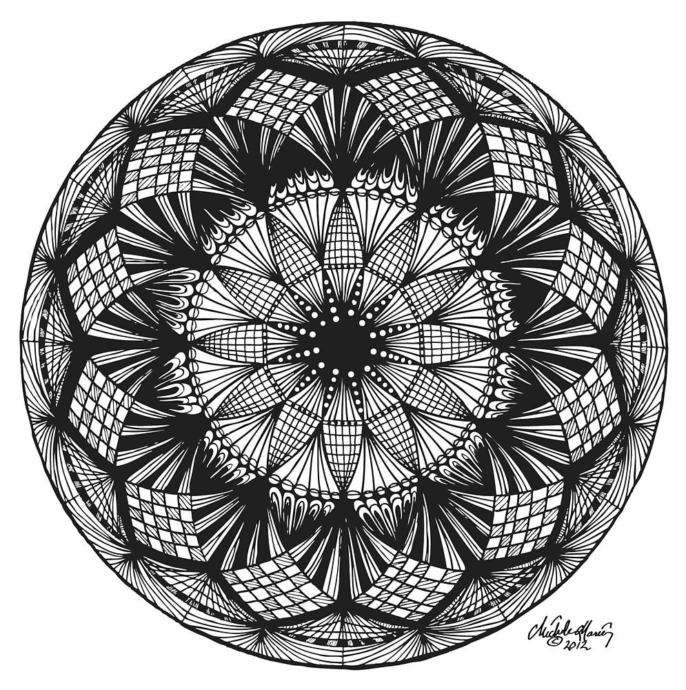 Mandala-2 by Michele Polk