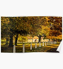 Autumn at Wiseton Stables Poster