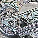 Chopper Belt Drive Detail by Samuel Sheats