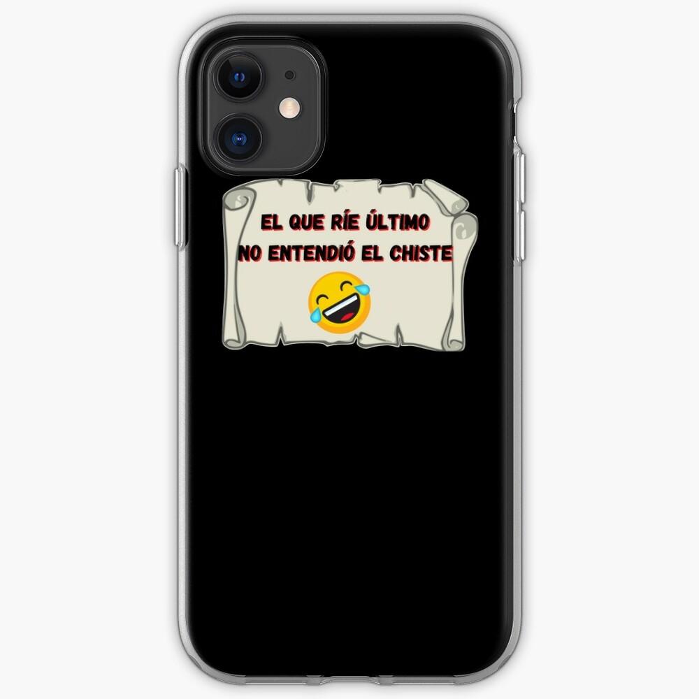 El que ríe el último no entendió el chiste Funda y vinilo para iPhone