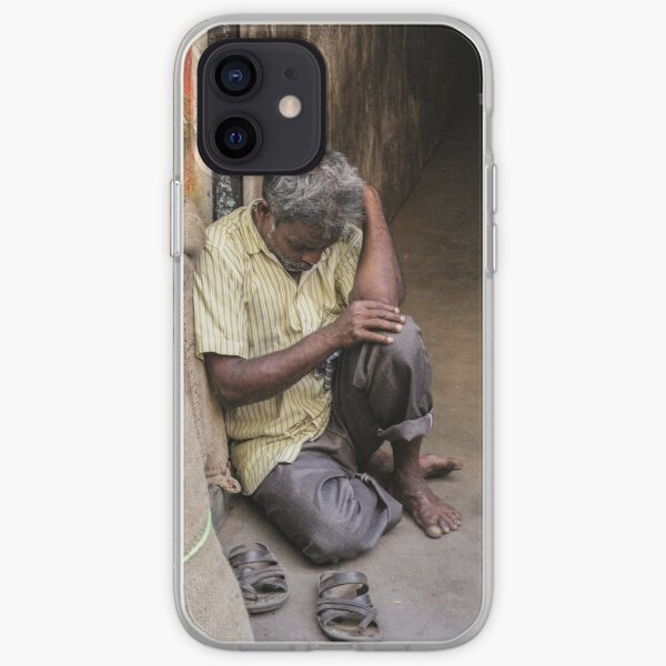 Aged manual labor sleeping iPhone Soft Case