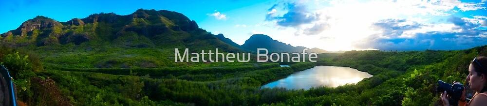 Menehune Fish Pond by Matthew Bonafe