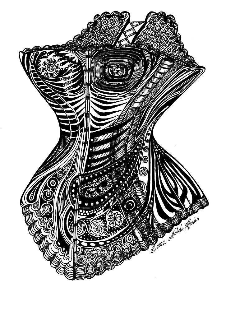 Steampunk Bustier by Michele Polk