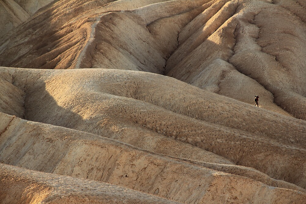 Lone Photographer, Death Valley by Scott Sawyer