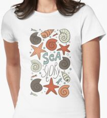 Sea story Women's Fitted T-Shirt