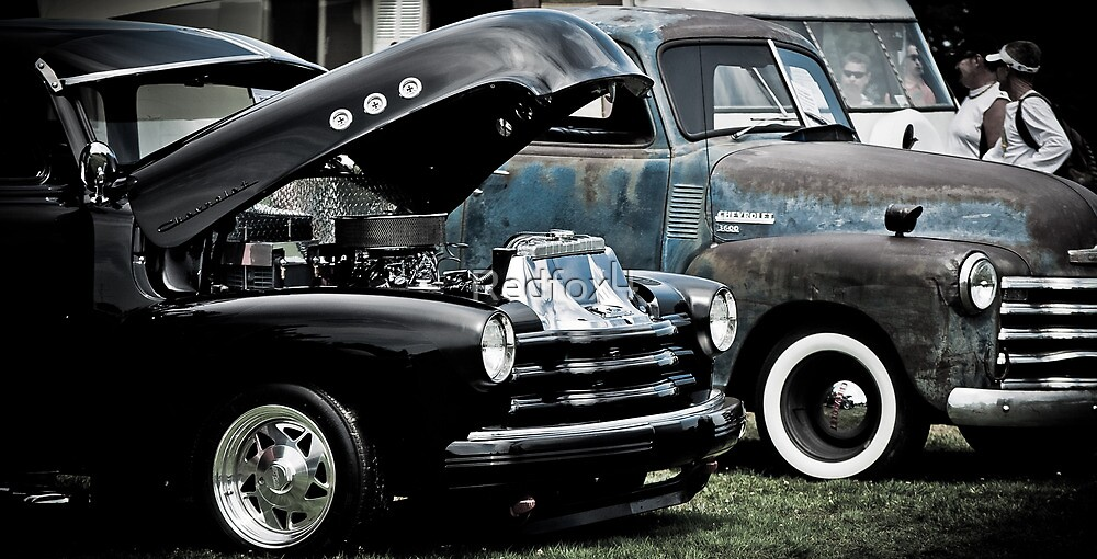 Double up on Chevys by Redfox4