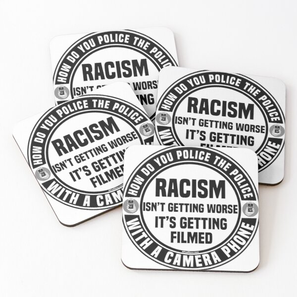 How Do You Police The Police Coasters (Set of 4)