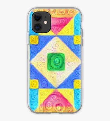 #DeepDream Color Squares Visual Areas 5x5K v1448181063 iPhone Case