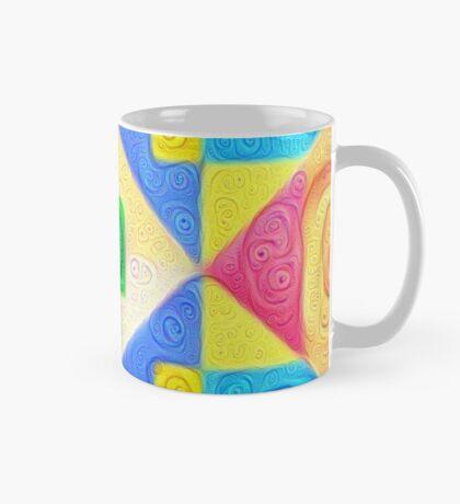 #DeepDream Color Squares Visual Areas 5x5K v1448181063 Mug