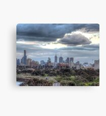 Melbourne from Box Hill Canvas Print