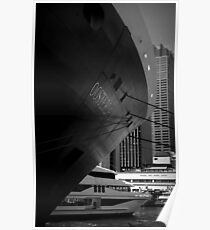 Oosterdam in Circular Quay Poster