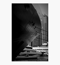 Oosterdam in Circular Quay Photographic Print
