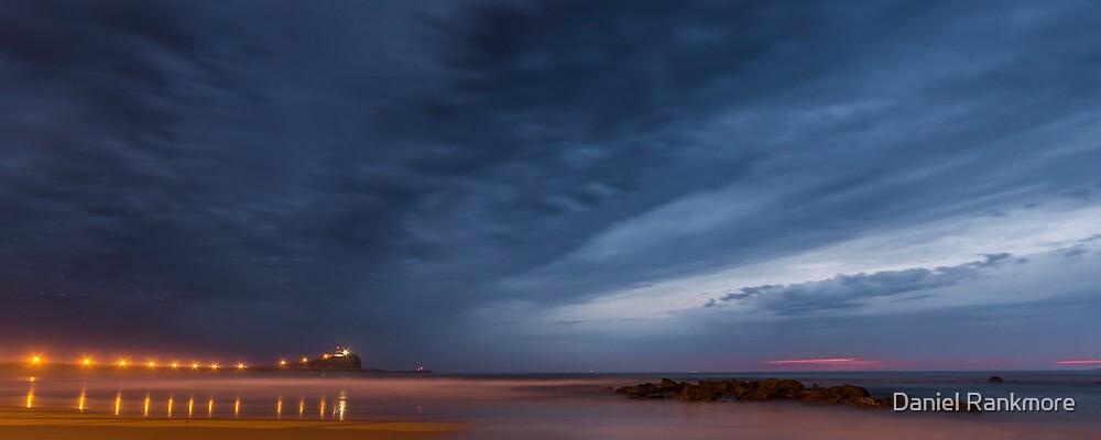 Nobby's Beach Sunrise (2:5 Panorama) by Daniel Rankmore