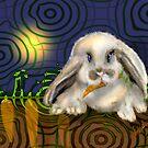 The Gardener Never Sleeps, Rabbit by Alma Lee by Alma Lee