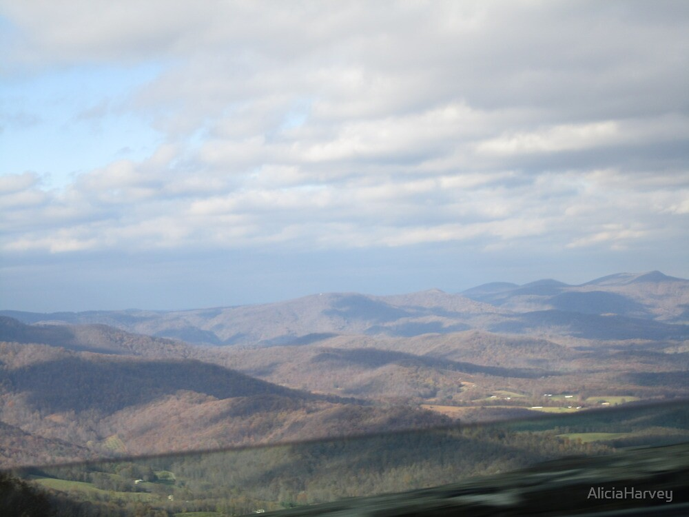 Mountain Skies  by AliciaHarvey