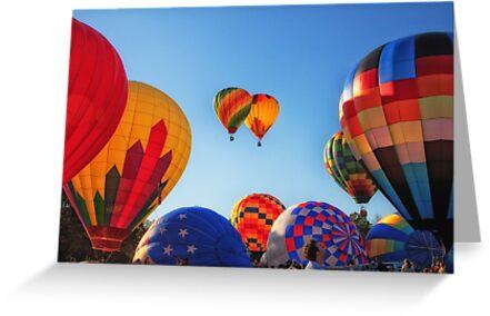 Blue Skies & Balloons, Balloon Festival, Statesville, NC by Denise Worden
