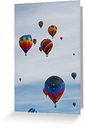 To The Sky, Balloon Festival, Statesville, NC by Denise Worden