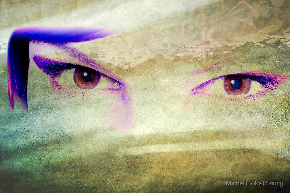 Textured Eyes by michelsoucy