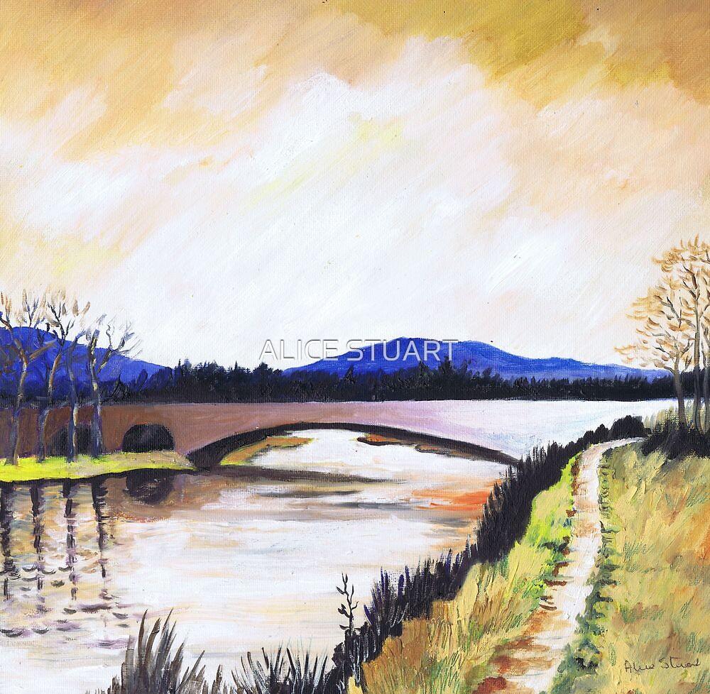 Bridge at Aboyne by ALICE STUART