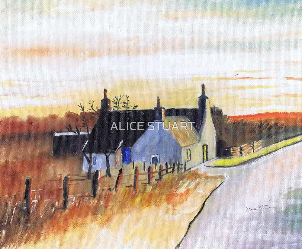 Autumn Sunset by ALICE STUART
