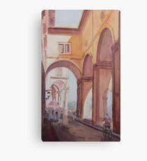 Florence Arcade Canvas Print