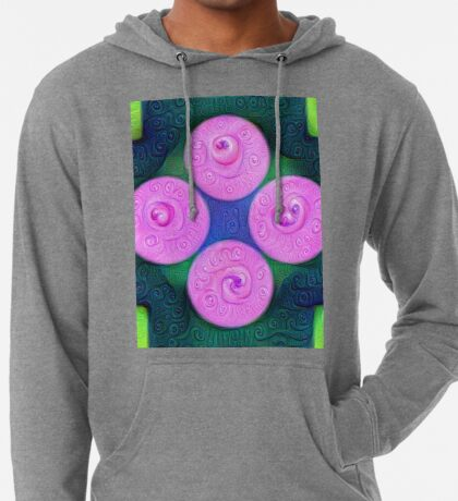 #DeepDream Color Squares Circles Visual Areas 5x5K v1448204645 Lightweight Hoodie
