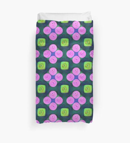 #DeepDream Color Squares Circles Visual Areas 5x5K v1448204645 Duvet Cover