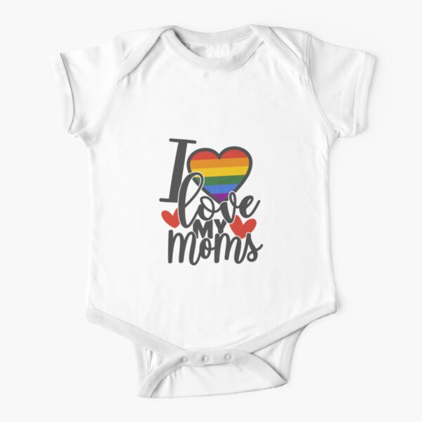 LGBT Pride Baby Onesies One Piece Set Novelty Boys Girls Family Baby Onesie Long Sleeve