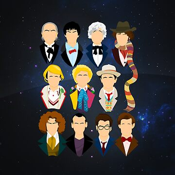 The Eleven Doctors | iPad Case by TomTrager