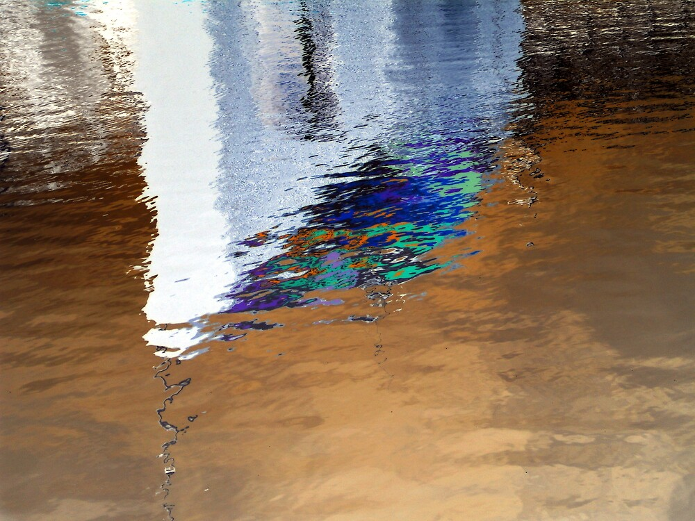 reflections on the lagan by Kevin McLaughlin