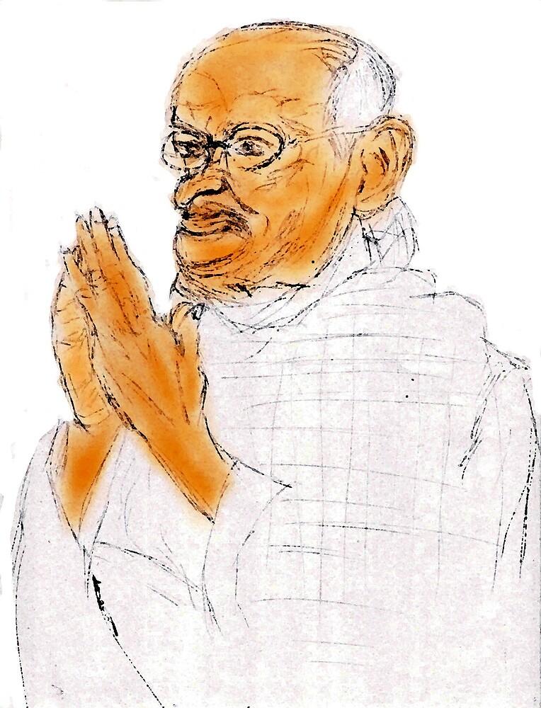 Gandhi  by Semmaster
