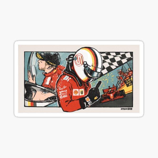 Seb Vettel  Sticker