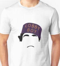 The Grand Budapest Hotel is Lobby Boy Unisex T-Shirt