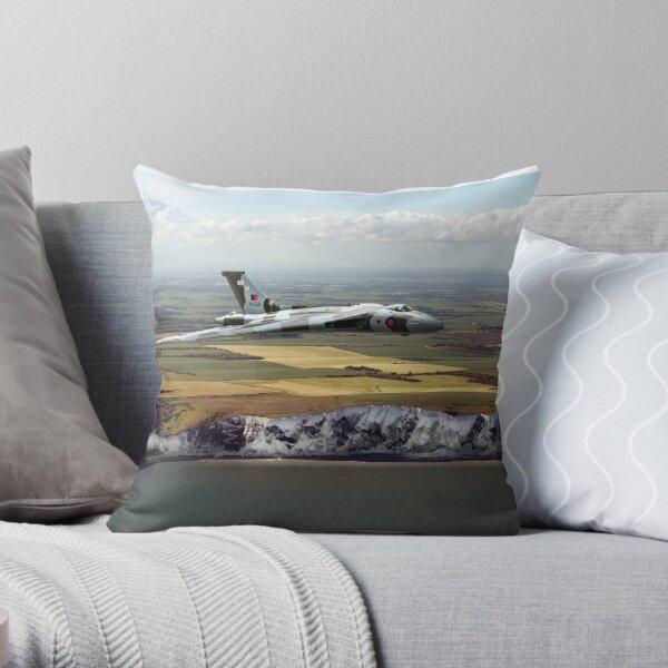 White cliffs Vulcan  Throw Pillow