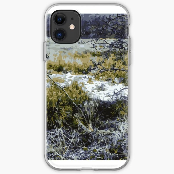 Frost Forest  iPhone Soft Case