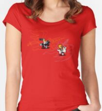 Playground Fantasy Women's Fitted Scoop T-Shirt