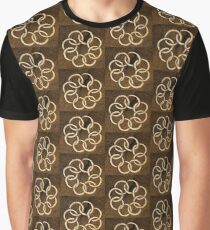 Dull Flower Graphic T-Shirt