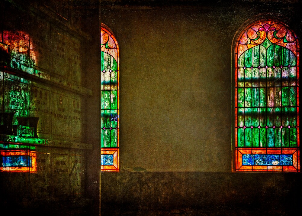 Stained Glass by Lynnette Peizer