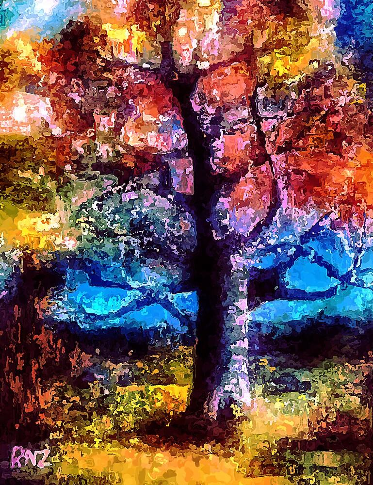 Last Glow of Autumn by Robert Zunikoff