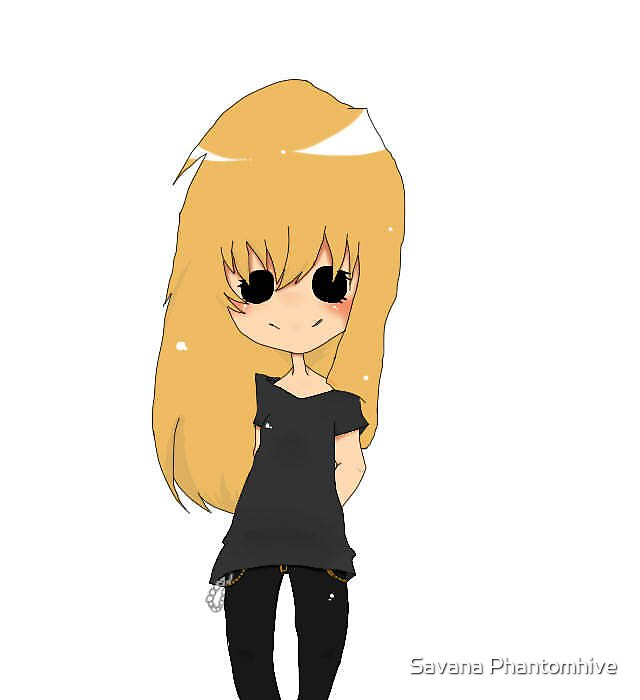 Me,Savana :D  by Savana Phantomhive
