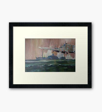 SS Dorset Framed Print