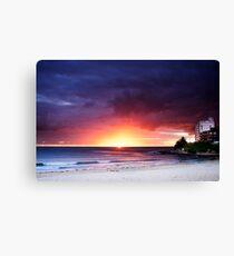Cronulla Beach Sunrise1 Canvas Print