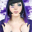 Purple Moira by Julia  Thomas