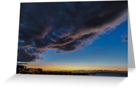 Stormy Sunset by Jim Stiles